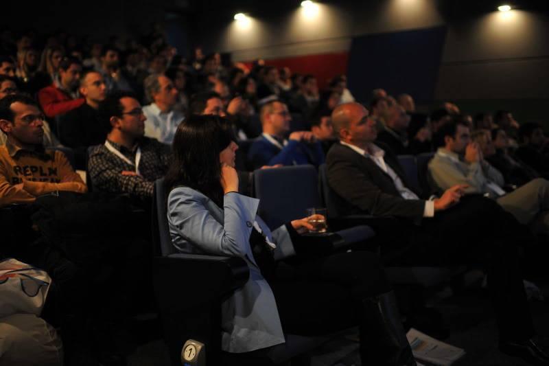 קהל בכנס גוגל